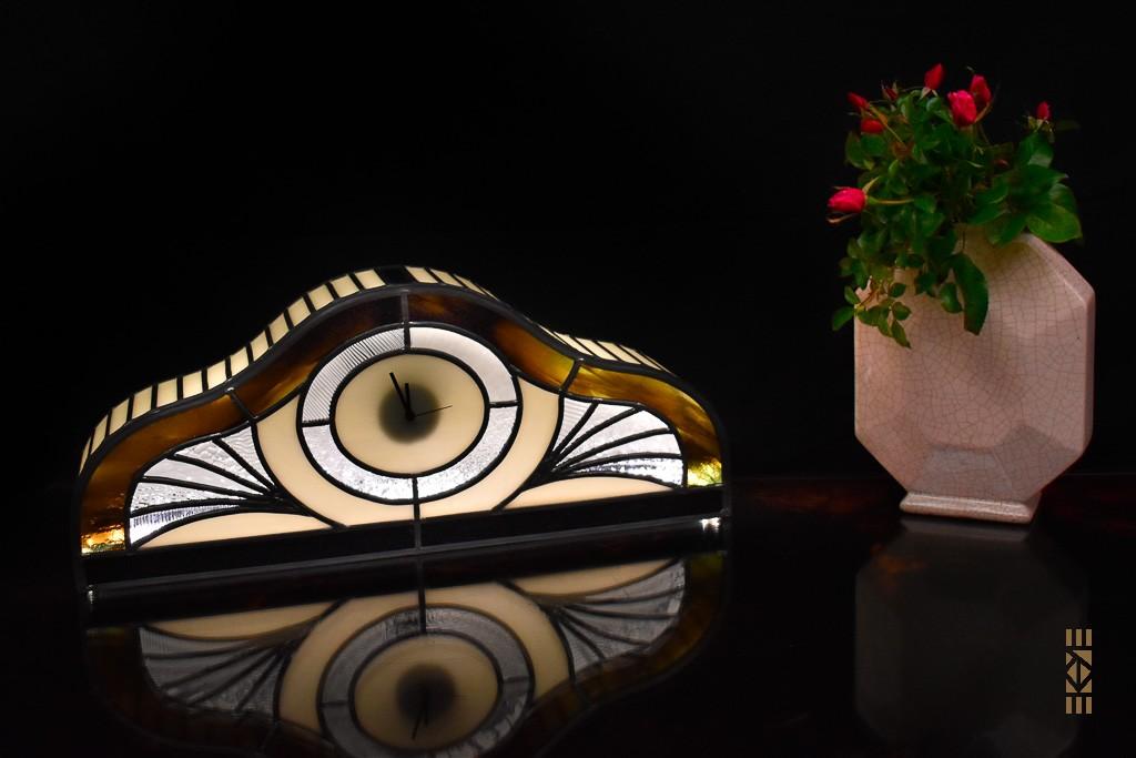 EKAYE Art Déco Horloge Lampe  Hector G.