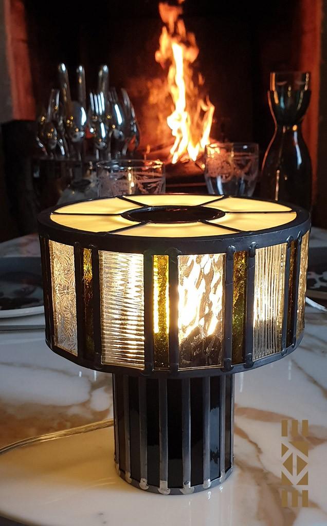 EKAYE Lampe Art Déco Scott F.