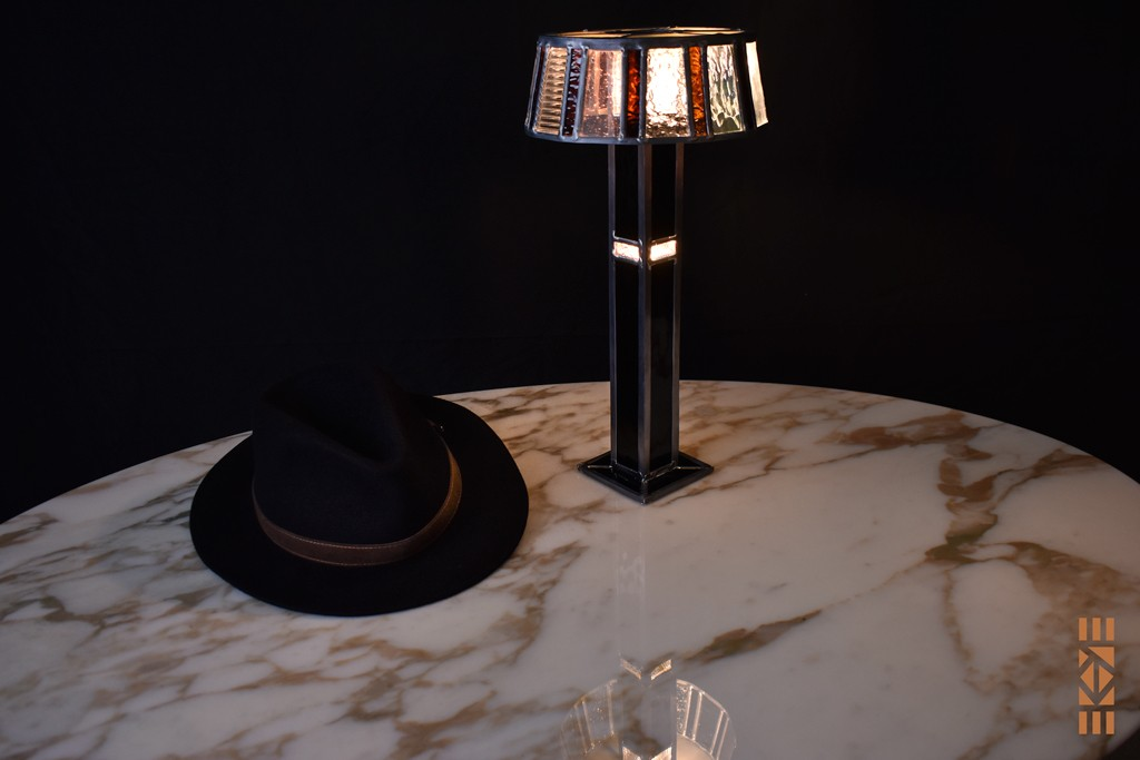 EKAYE Lampe Art Déco Ernest H.