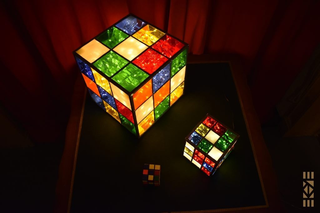 Cubes Seventies mélangés | l'Art au Cube | EKAYE