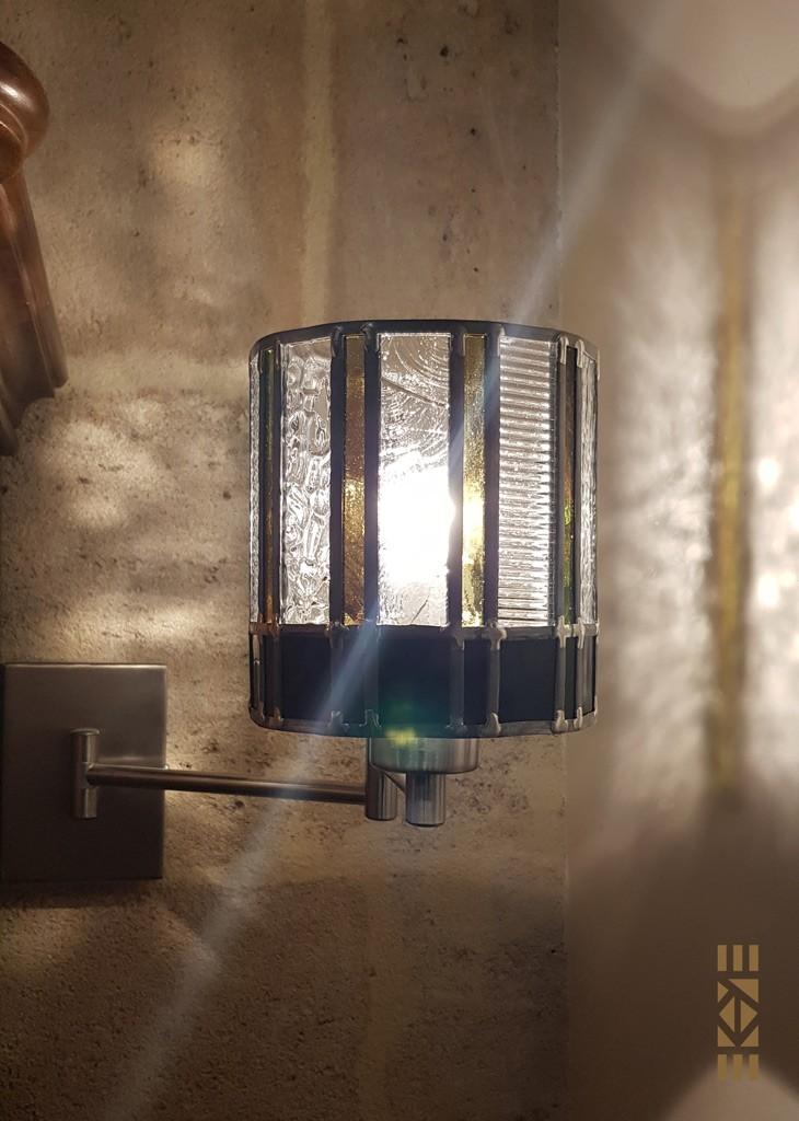 EKAYE Art Déco Lampe Applique Suzy S.