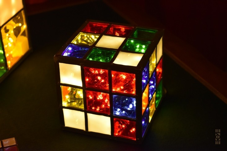EKAYE | l'Art au Cube | Cube Mélangé Mini