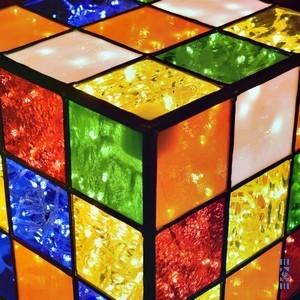 EKAYE Lampe Le Cube menu