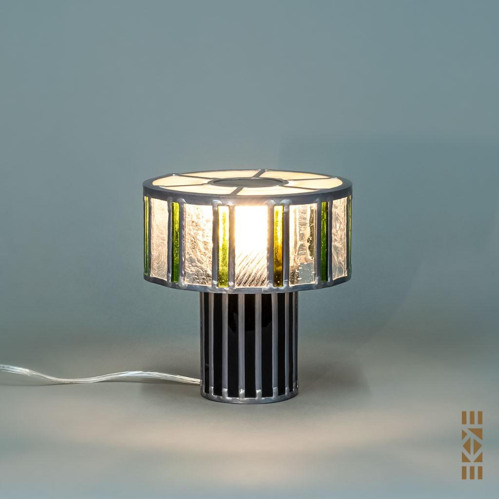 Lampe Scott F. EKAYE allumée de jour