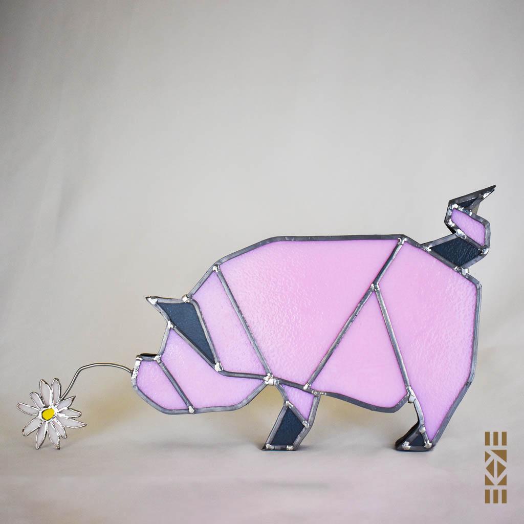 Ekaye | Le Bourdon et la luciole | Veilleuse Cochon