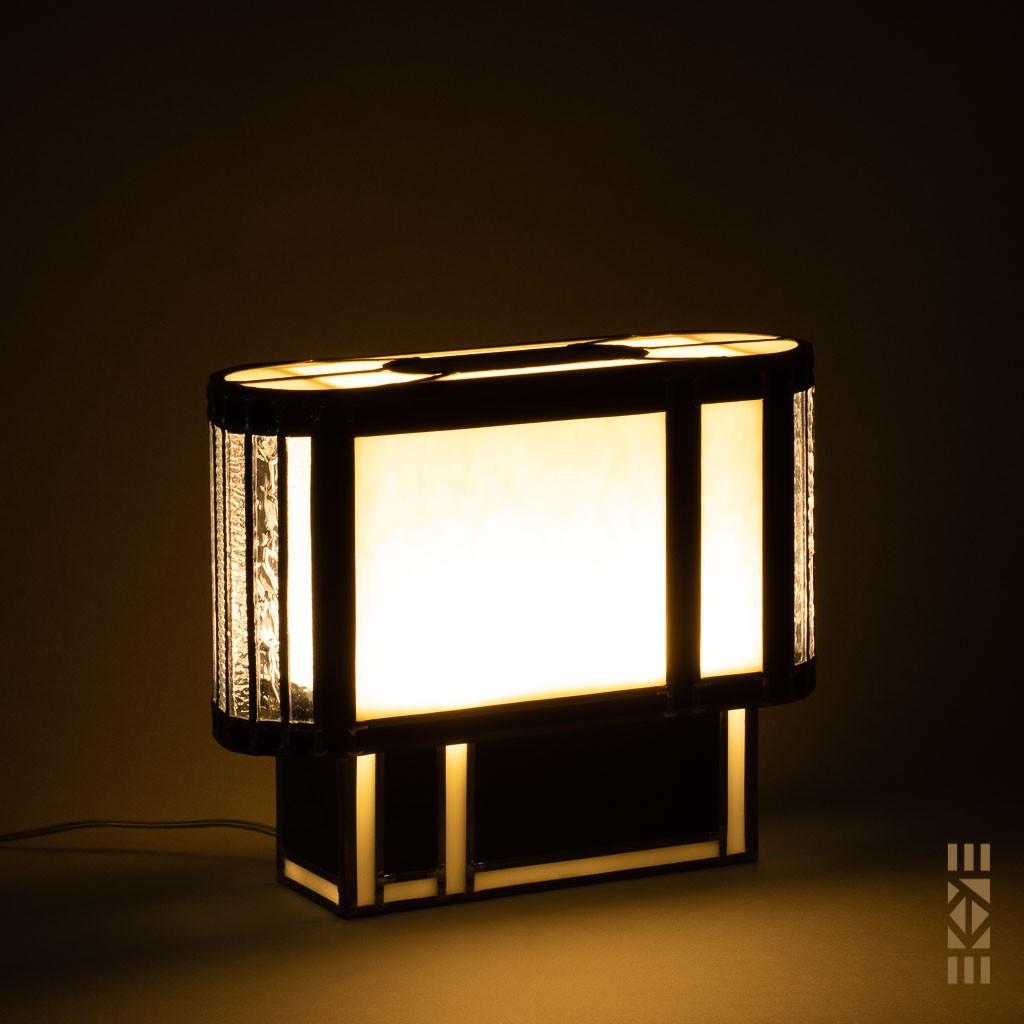 Lampe Frank L.W. |EKAYE| allumée de nuit