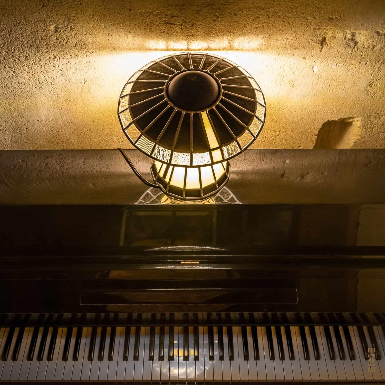 Lampe Madame EKAYE piano