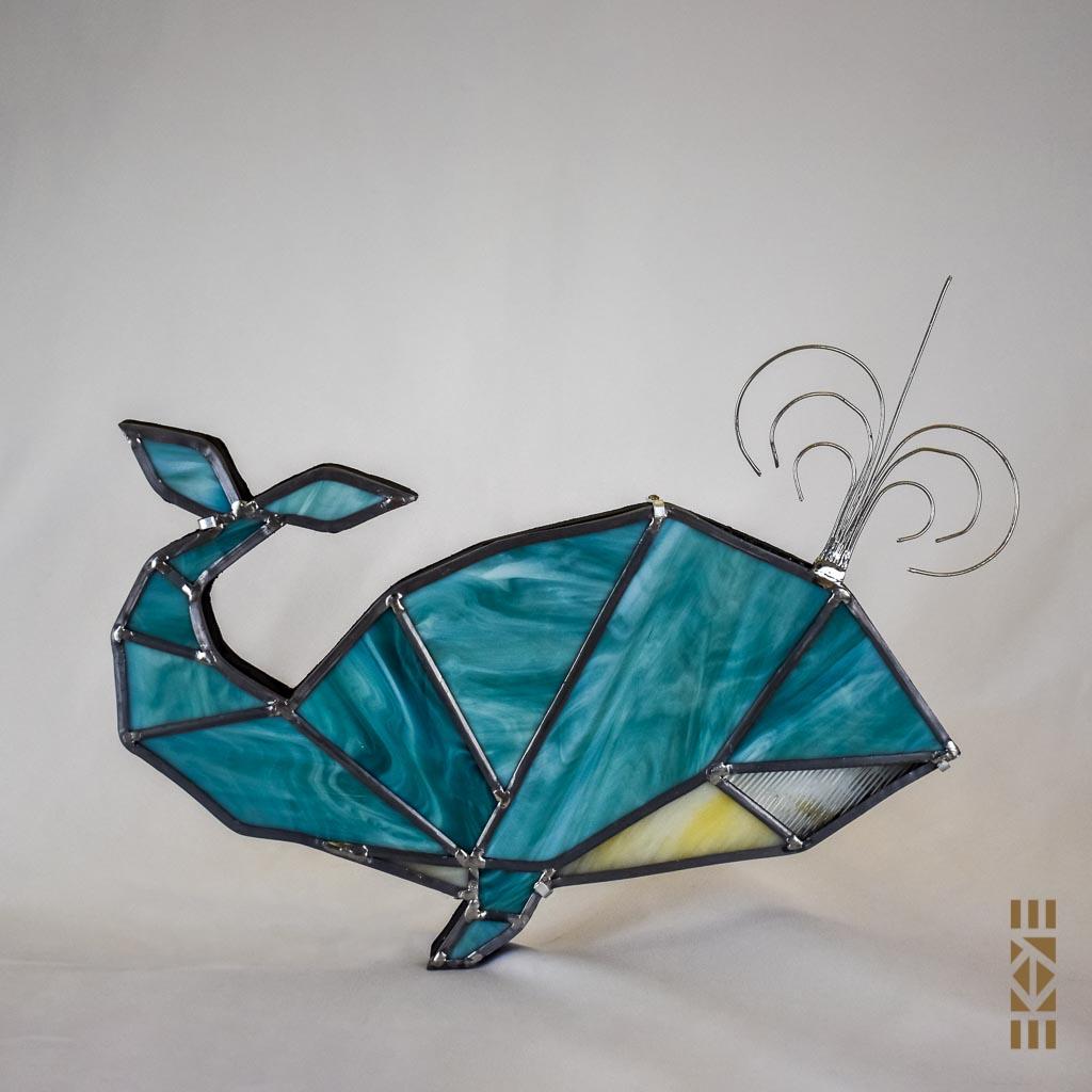 Veilleuse Baleine éteinte | Le Bourdon et la luciole | EKAYE